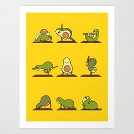 Strengthen My Avo- Coredo Art Print