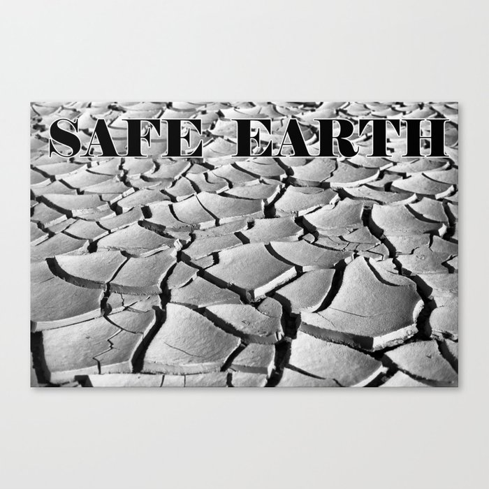Safe Earth Canvas Print
