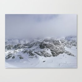 Mountains in June Canvas Print