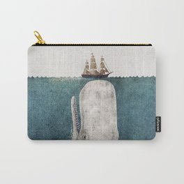 The Whale - vintage  Carry-All Pouch