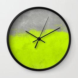 Abstract Painting #3 Wall Clock