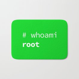 Who am I? Root, the System Administrator Bath Mat