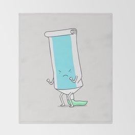 squeeze... Throw Blanket