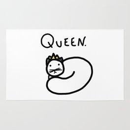 Queen. Rug