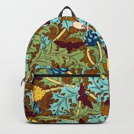 Golden thistle Backpack
