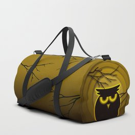 Halloween Owl Duffle Bag