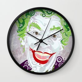 The Clown Prince 60 Wall Clock