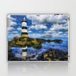Penmon Lighthouse Laptop & iPad Skin