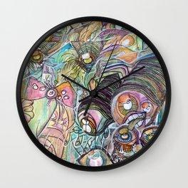 Eyefield Wall Clock
