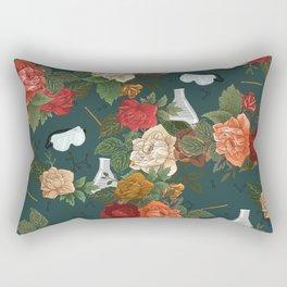 Chemistry Floral Rectangular Pillow