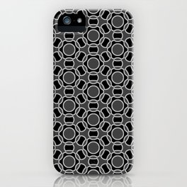 Modern Times 2.0 Pattern - Design No. 11 iPhone Case