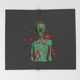Zombie Throw Blanket