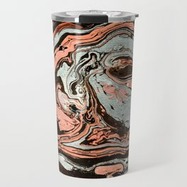 Abstract luxury painting marble Travel Mug
