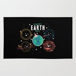 Happy Earth Day Rug