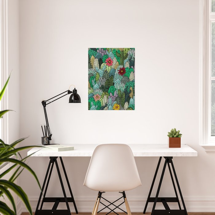 Cactus Collection Poster
