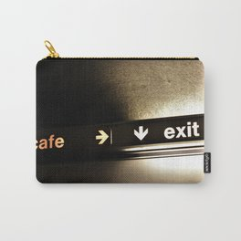 Cafe/Exit Carry-All Pouch