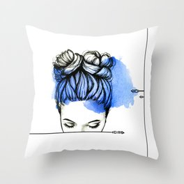 Be Myself Throw Pillow