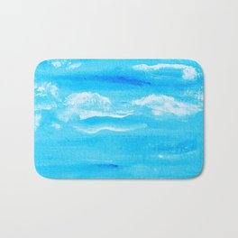Blue Skies in Florida #6 Bath Mat