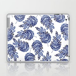 Cobalt Fern Laptop & iPad Skin