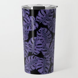 Ultra violet monstera Travel Mug