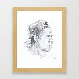 Jay Z - Go Home Framed Art Print