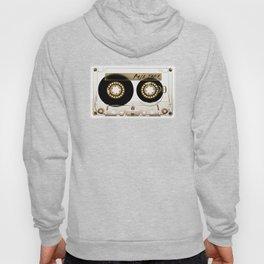 Transparant mix tape Retro Cassette Hoody