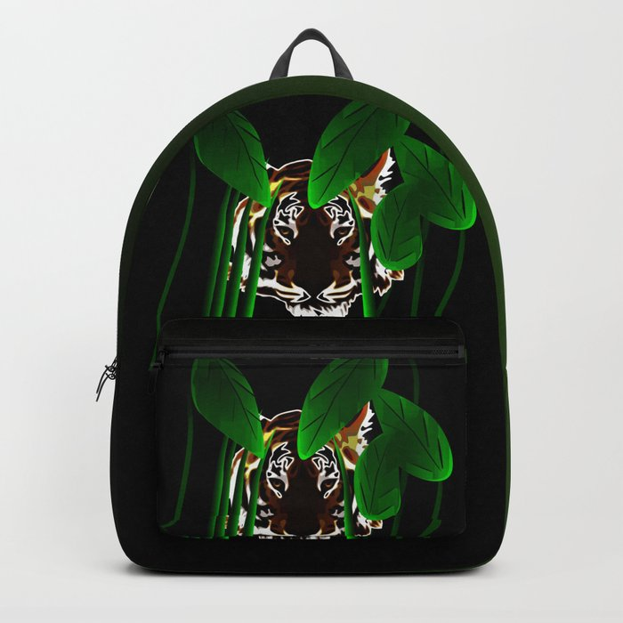 Tiger In the Night Backpack