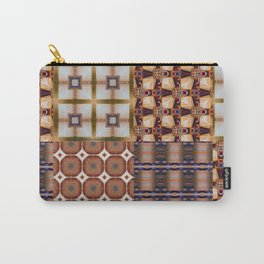 Warm Square Designs Carry-All Pouch