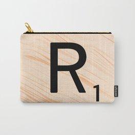 Scrabble Letter R - Large Scrabble Tiles Carry-All Pouch