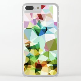 Facets Clear iPhone Case