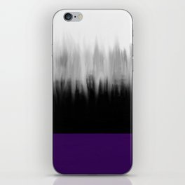 Asexuality Spectrum Flag iPhone Skin