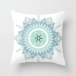 Star Ornament Throw Pillow