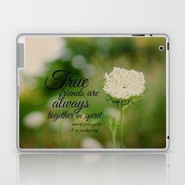 True Friends Anne  Laptop & iPad Skin