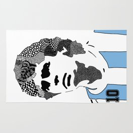 Diego Maradona Rug