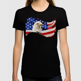 American Eagle and Flag T-shirt