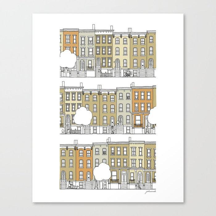 Brooklyn (color) Canvas Print