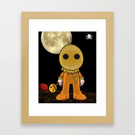 Lil Horror Classics Featuring Sam from Trick R' Treat Framed Art Print