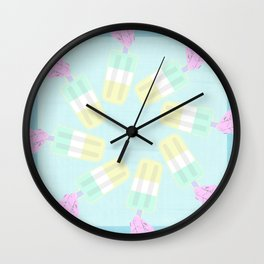 LET'S POP Wall Clock