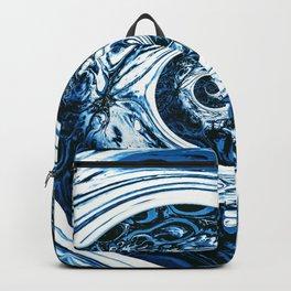 Yoga blue sacral for Kate Backpack