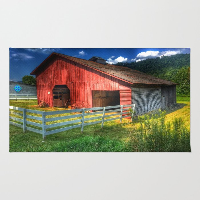 Barn in Valle Crucis, NC Rug