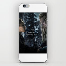 "Clexa: "" I will always be with you"" iPhone Skin"
