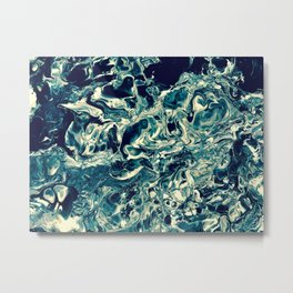 The Surge:Monochrome Metal Print