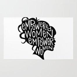 Empowered Women Empower Women Rug