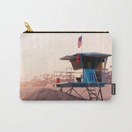 Huntington beach sunset Carry-All Pouch