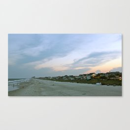 Waterside: Surfside, South Carolina. Canvas Print