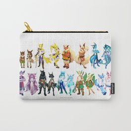 Eeveelutuions Complete Artwork Carry-All Pouch