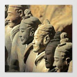 Chinese Terracotta Warriors Canvas Print