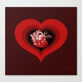 Delicious Valentine Canvas Print