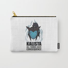 Kalista w/ quote Carry-All Pouch