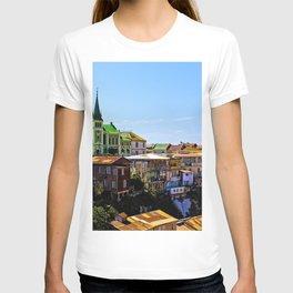 Cerro Conception, Valparaiso, Chile T-shirt